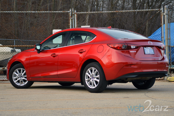 2015 Mazda Mazda3 i Touring Review
