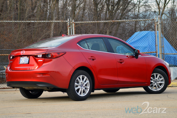 2015 mazda mazda3 i touring review web2carz. Black Bedroom Furniture Sets. Home Design Ideas