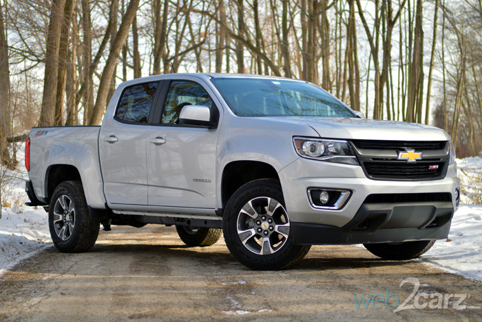 2015 Chevrolet Colorado Z71 Review