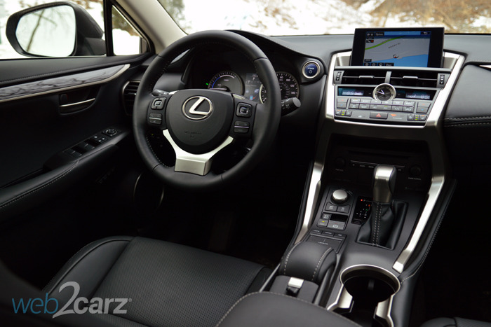 Iihs Safety Ratings >> 2015 Lexus NX 300h AWD Review | Web2Carz