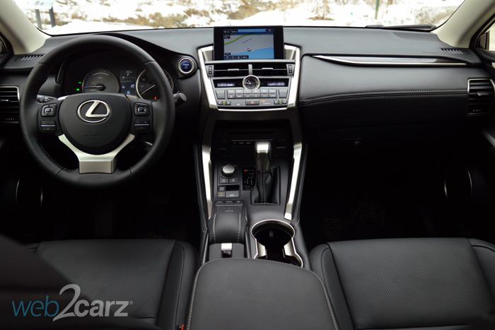 2015 Lexus NX 300h AWD Review   Web2Carz