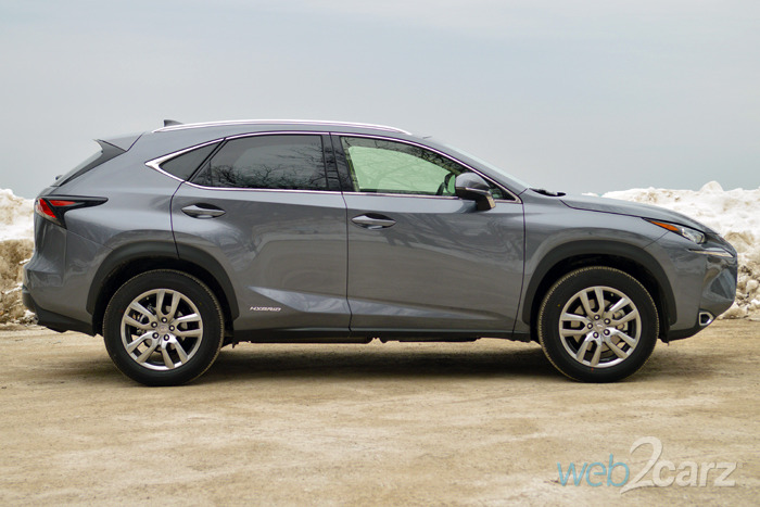 2015 Lexus NX 300h AWD Review