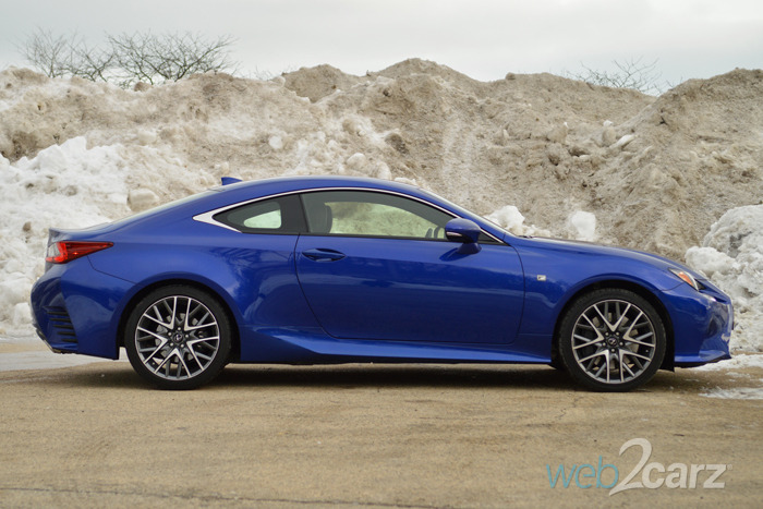 2015 lexus rc 350 f sport review web2carz. Black Bedroom Furniture Sets. Home Design Ideas