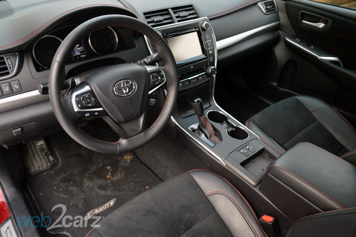 2015 Toyota Camry XSE Review | Web2Carz