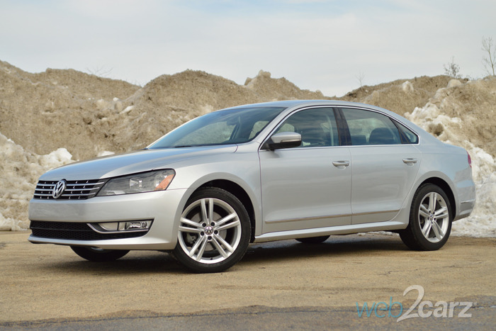 Volkswagen Passat L Tdi Sel Premium Front Quarter Driver X