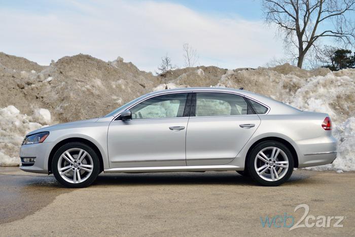 2015 Volkswagen Passat TDI SEL Premium Review   Web2Carz