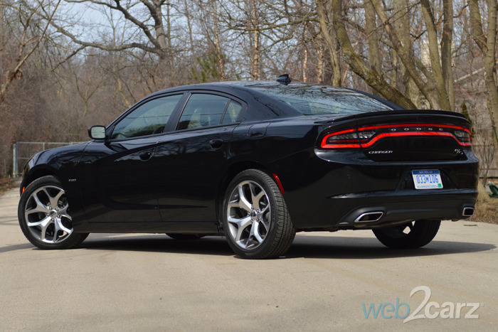 2015 dodge charger rt black