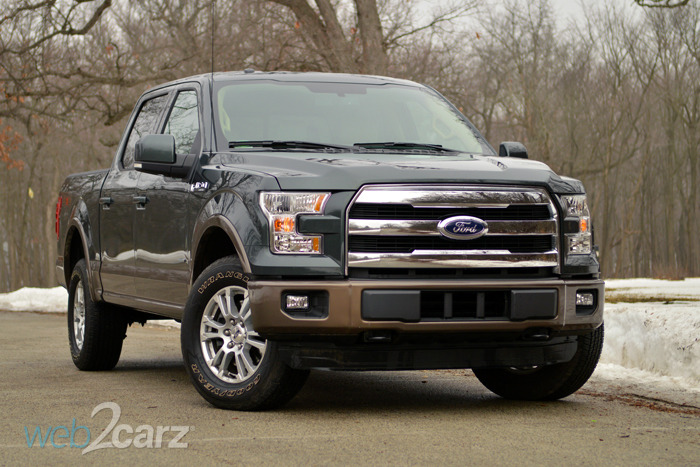 2015 Ford F-150 4X4 Lariat Review | Web2Carz