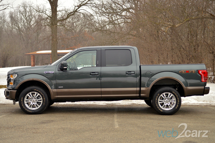 2015 Ford F-150 4X4 Lariat Review