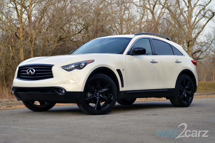 2015 Infiniti QX70 Review