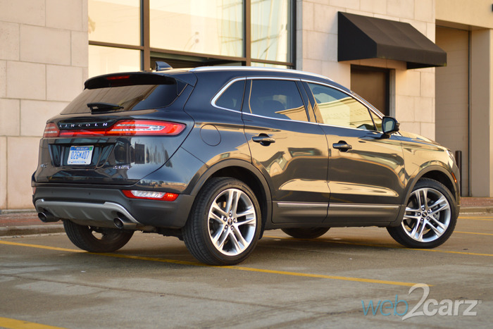 2015 Lincoln MKC 2.3 AWD Review | Web2Carz