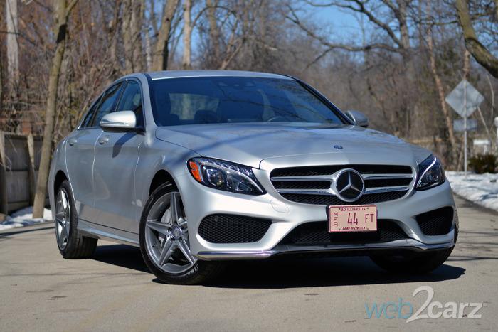 2015 Mercedes-Benz C300 4MATIC Review   Web2Carz