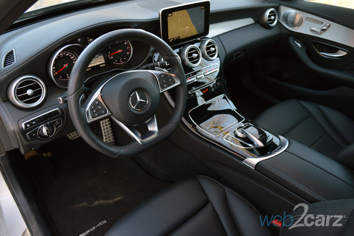 Lease Used Mercedes >> 2015 Mercedes-Benz C300 4MATIC Review | Web2Carz