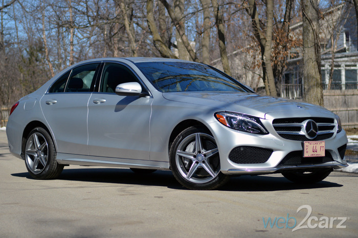 2015 mercedes benz c300 4matic review web2carz for Mercedes benz 2015 c class price