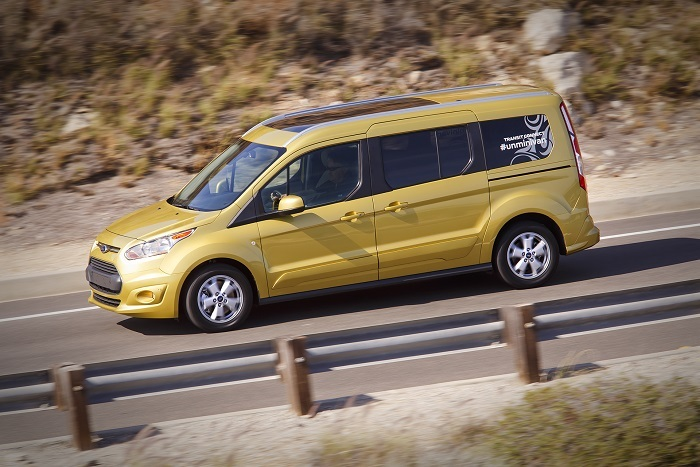 2014 ford transit connect titanium wagon review - Ford transit connect titanium interior ...