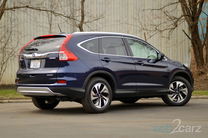 2015 Honda CR-V Touring AWD Review