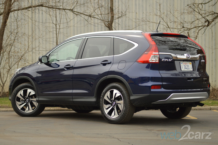 2015 honda cr v touring awd review web2carz. Black Bedroom Furniture Sets. Home Design Ideas