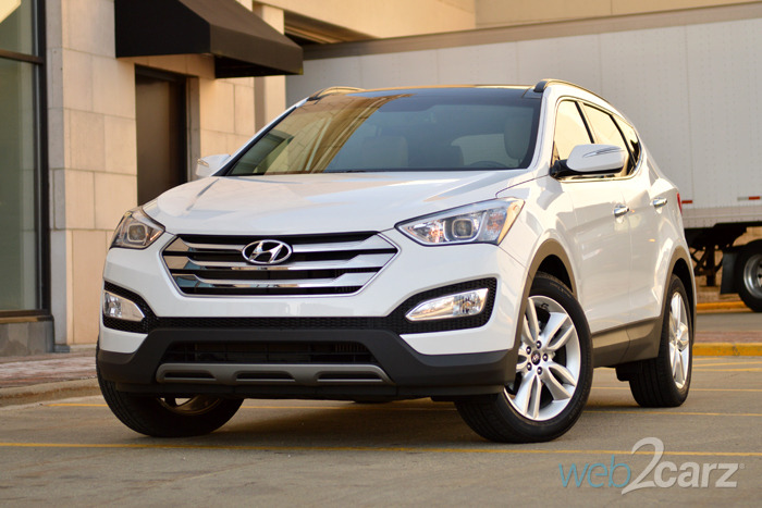 2015 hyundai santa fe sport review web2carz. Black Bedroom Furniture Sets. Home Design Ideas