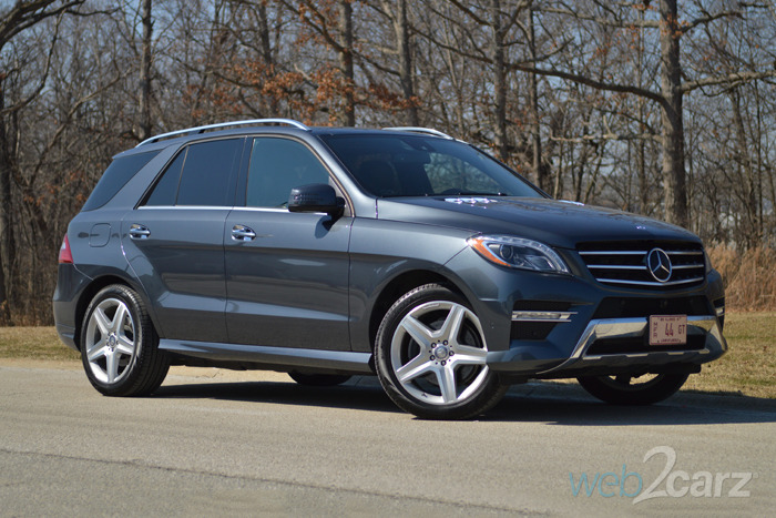 2015 Mercedes-Benz ML400 Review