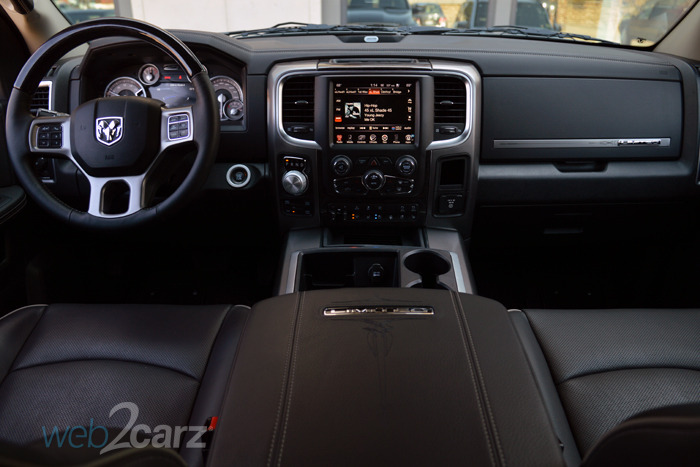 Toyota Diesel Trucks >> 2015 Ram 1500 Laramie Limited Diesel Crew Cab 4X4 Review   Web2Carz