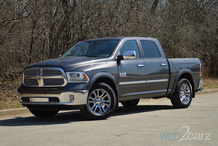 2015 ram 1500 laramie limited diesel crew cab 4x4 review web2carz. Black Bedroom Furniture Sets. Home Design Ideas