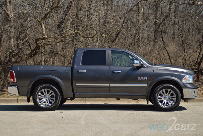 Ram Rebel Price >> 2015 Ram 1500 Laramie Limited Diesel Crew Cab 4X4 Review | Web2Carz