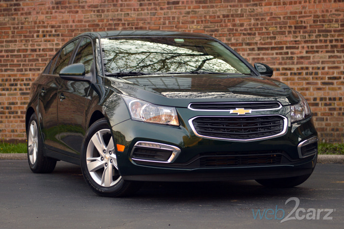 2015 Chevy Cruze Clean Turbo Diesel Review | Web2Carz