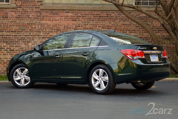 2015 Chevy Cruze Clean Turbo Diesel Review