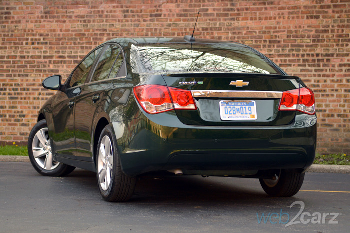 2015 Chevy Cruze Clean Turbo Diesel Review   Web2Carz
