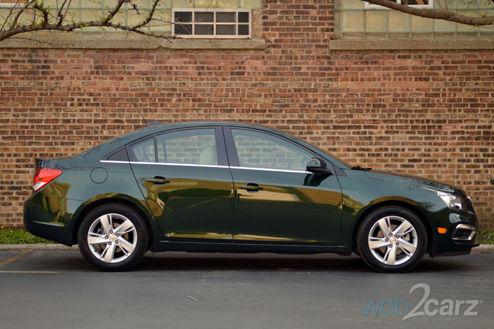 2015 chevy cruze clean turbo diesel review web2carz. Black Bedroom Furniture Sets. Home Design Ideas