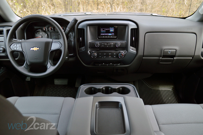 2015 Chevrolet Silverado 1500 2WD LS Review | Web2Carz