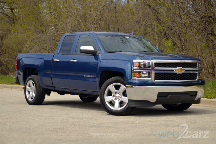 2015 chevrolet silverado 1500 2wd ls review web2carz. Black Bedroom Furniture Sets. Home Design Ideas