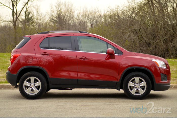 2015 Chevrolet Trax LT AWD Review | Web2Carz