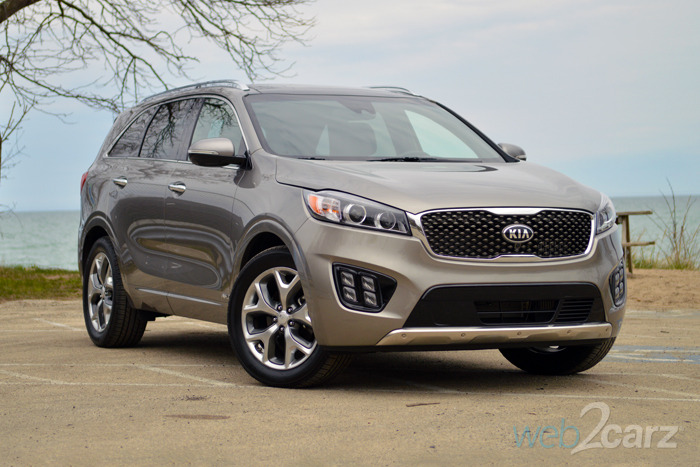 2016 Kia Sorento 2.0T SXL Review