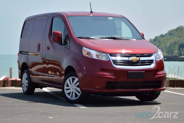 2015 Chevrolet City Express LT Review | Web2Carz