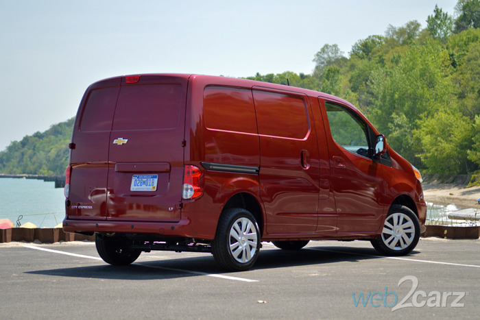 2015 Chevrolet City Express LT Review