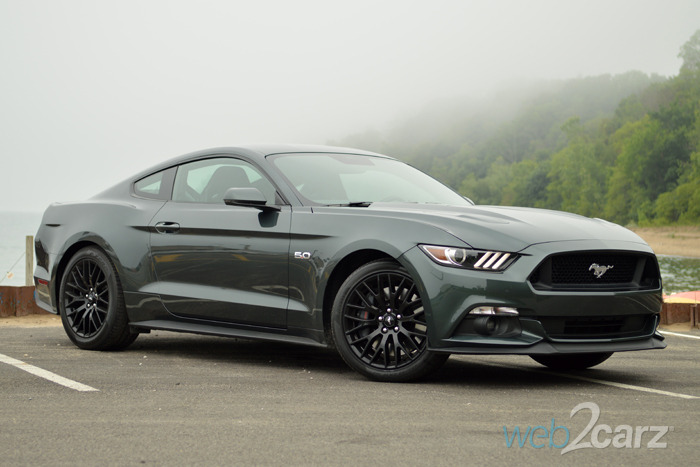 2016 Ford Mustang Gray 200 Interior And Exterior Images