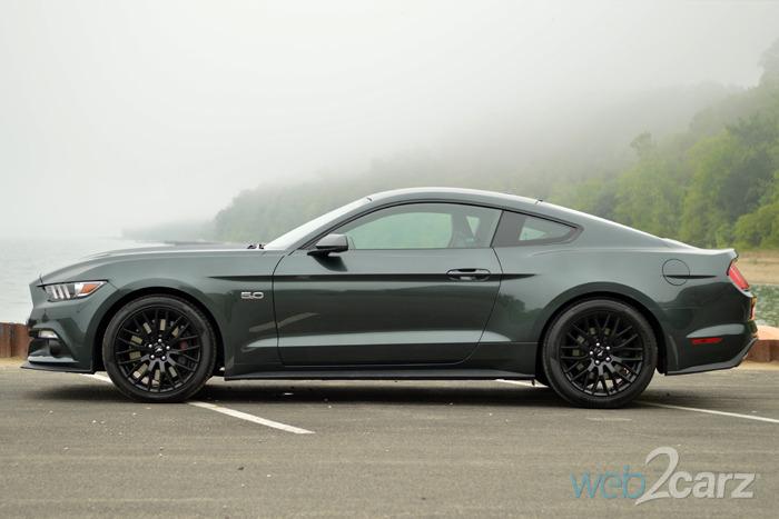 2015 Ford Mustang ... & 2015 Ford Mustang GT Premium Review | Web2Carz markmcfarlin.com