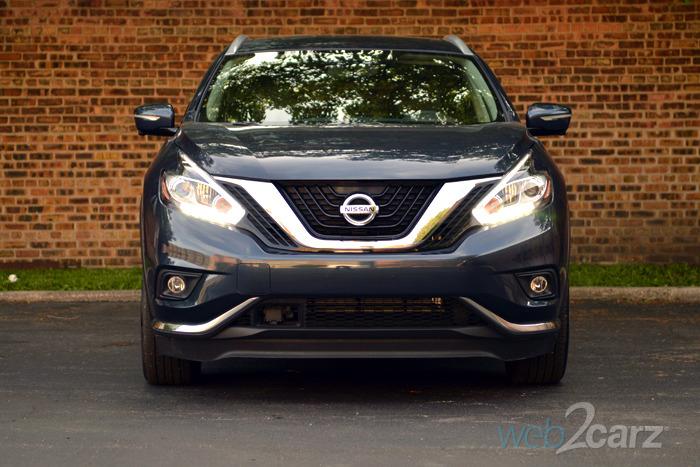 Simple 2015 Nissan Murano Platinum Review  Web2Carz