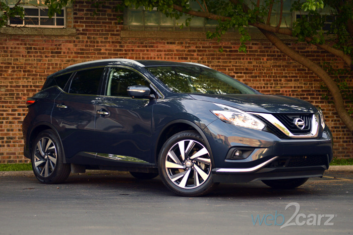 Awesome 2015 Nissan Murano Platinum Review  Web2Carz