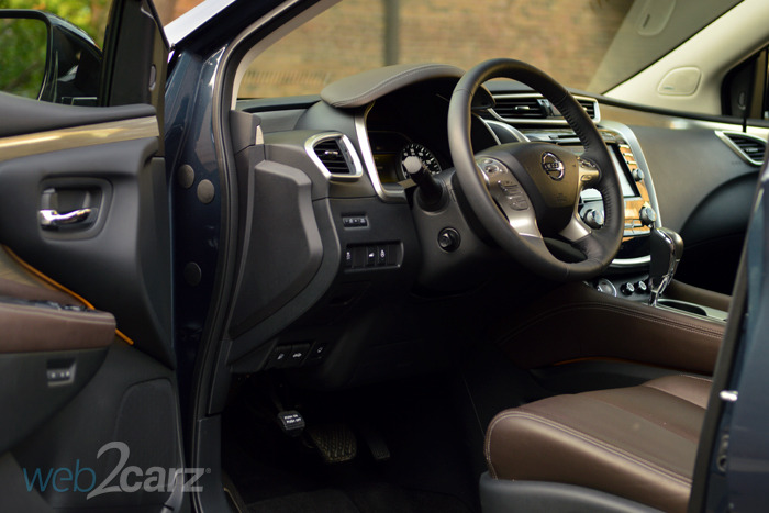 2015 nissan murano platinum review web2carz. Black Bedroom Furniture Sets. Home Design Ideas
