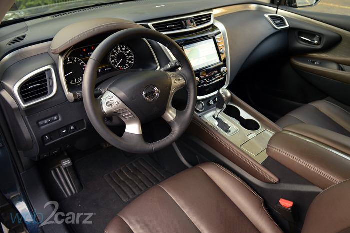 Kia Optima 2017 Interior >> 2015 Nissan Murano Platinum Review | Web2Carz