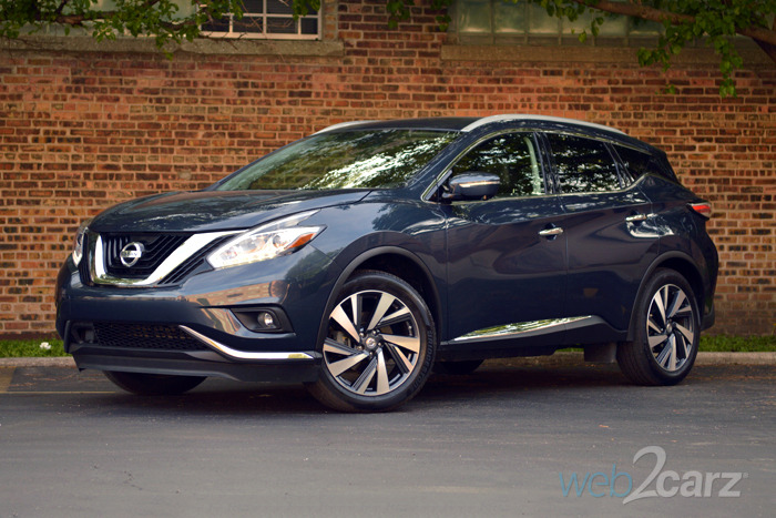 2015 Nissan Murano Platinum Review