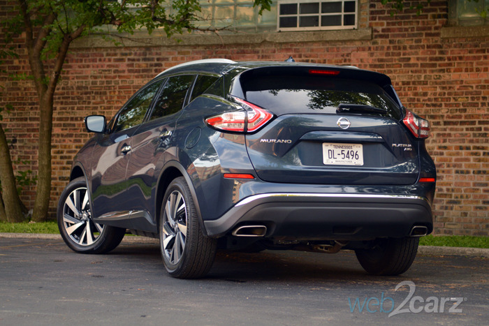 Amazing 2015 Nissan Murano Platinum Review  Web2Carz