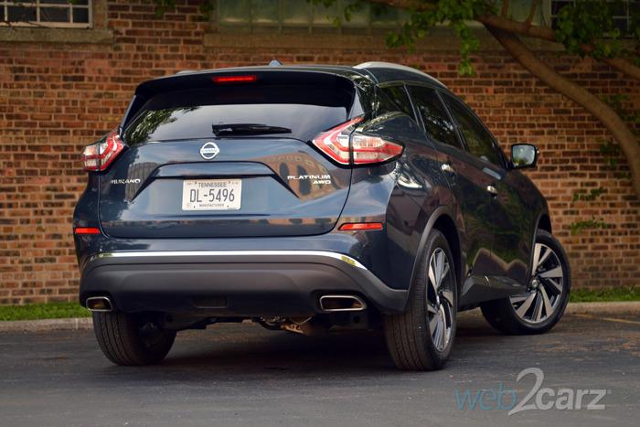 Tt Auto Sales >> 2015 Nissan Murano Platinum Review   Web2Carz