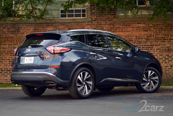 Popular 2015 Nissan Murano Platinum Review  Web2Carz