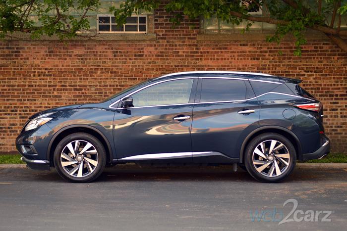 Lastest 2015 Nissan Murano Platinum Review  Web2Carz
