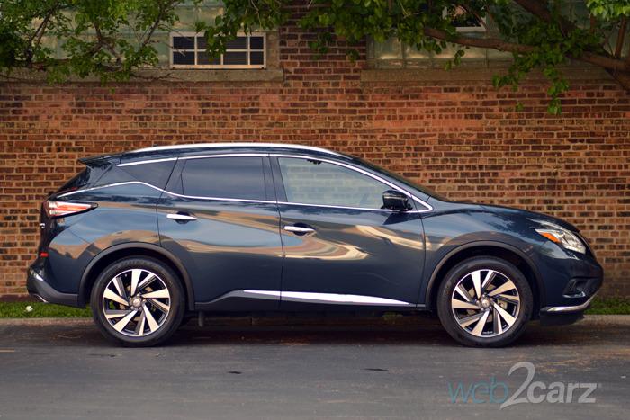 Perfect 2015 Nissan Murano Platinum Review  Web2Carz