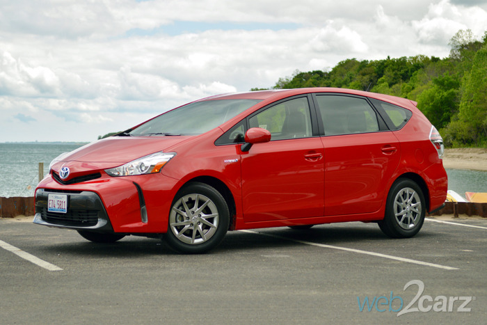 2015 Toyota Prius V Four Review