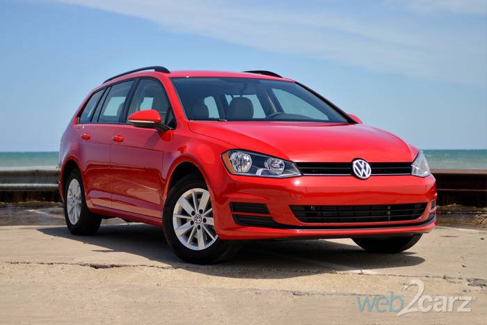 2015 Volkswagen Golf SportWagen TSI S Review